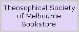 Theosopical Society of Melbourne Bookstore