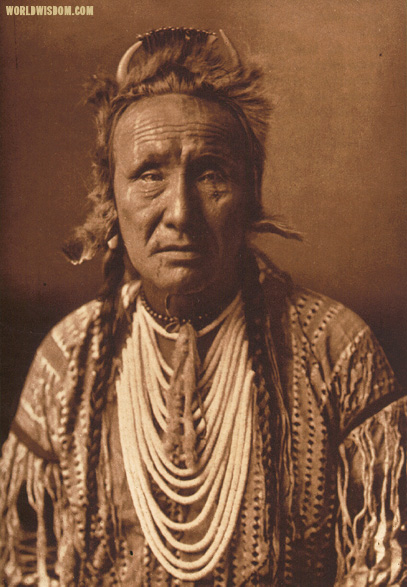 """The Grizzly-bear"" - Piegan, by Edward S. Curtis from The North American Indian Volume 6"