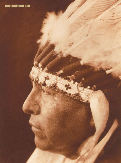 """White Elk"" - Oto, by Edward S. Curtis from The North American Indian Volume 19"
