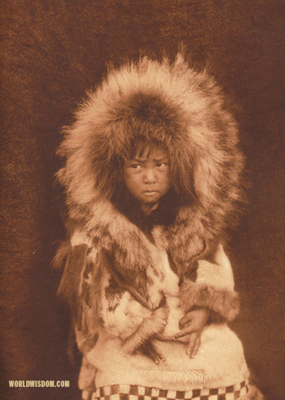 """Noatak child"", by Edward S. Curtis from The North American Indian Volume 20"